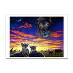 2-77-Animals-Wildlife-1024-010 Sticker (A4)