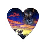 2-77-Animals-Wildlife-1024-010 Magnet (Heart)