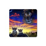 2-77-Animals-Wildlife-1024-010 Magnet (Square)