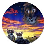2-77-Animals-Wildlife-1024-010 Magnet 5  (Round)