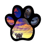 2-77-Animals-Wildlife-1024-010 Magnet (Paw Print)