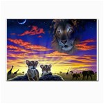 2-77-Animals-Wildlife-1024-010 Postcards 5  x 7  (Pkg of 10)