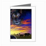 2-77-Animals-Wildlife-1024-010 Mini Greeting Cards (Pkg of 8)