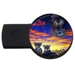 2-77-Animals-Wildlife-1024-010 USB Flash Drive Round (2 GB)