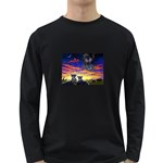 2-77-Animals-Wildlife-1024-010 Long Sleeve Dark T-Shirt