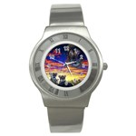 2-77-Animals-Wildlife-1024-010 Stainless Steel Watch