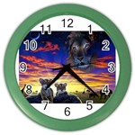 2-77-Animals-Wildlife-1024-010 Color Wall Clock