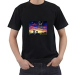 2-77-Animals-Wildlife-1024-010 Black T-Shirt