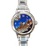 2-74-Animals-Wildlife-1024-007 Round Italian Charm Watch