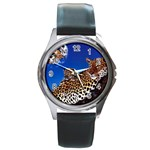 2-74-Animals-Wildlife-1024-007 Round Metal Watch