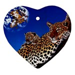 2-74-Animals-Wildlife-1024-007 Ornament (Heart)
