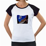 2-74-Animals-Wildlife-1024-007 Women s Cap Sleeve T