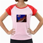 2-74-Animals-Wildlife-1024-007 Women s Cap Sleeve T-Shirt