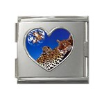 2-74-Animals-Wildlife-1024-007 Mega Link Heart Italian Charm (18mm)