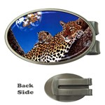 2-74-Animals-Wildlife-1024-007 Money Clip (Oval)