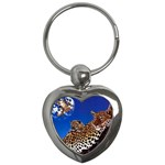 2-74-Animals-Wildlife-1024-007 Key Chain (Heart)