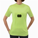 Mind_-Body-_-Soul-Tattoo-Belt-Buckle Women s Green T-Shirt