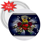 Mind_-Body-_-Soul-Tattoo-Belt-Buckle 3  Button (10 pack)