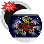 Mind_-Body-_-Soul-Tattoo-Belt-Buckle 3  Magnet (100 pack)