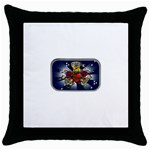 Mind_-Body-_-Soul-Tattoo-Belt-Buckle Throw Pillow Case (Black)