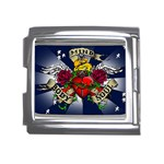 Mind_-Body-_-Soul-Tattoo-Belt-Buckle Mega Link Italian Charm (18mm)
