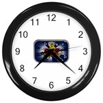 Mind_-Body-_-Soul-Tattoo-Belt-Buckle Wall Clock (Black)