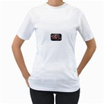 Love-Hurts-Tattoo-Chrome-Belt-Buckle Women s T-Shirt