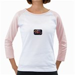 Love-Hurts-Tattoo-Chrome-Belt-Buckle Girly Raglan