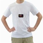 Love-Hurts-Tattoo-Chrome-Belt-Buckle White T-Shirt