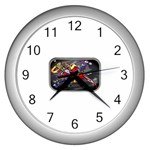 Love-Hurts-Tattoo-Chrome-Belt-Buckle Wall Clock (Silver)