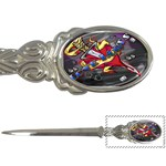 Love-Hurts-Tattoo-Chrome-Belt-Buckle Letter Opener