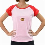 LARK64 Women s Cap Sleeve T-Shirt