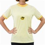LARK64 Women s Fitted Ringer T-Shirt