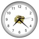 LARK64 Wall Clock (Silver)