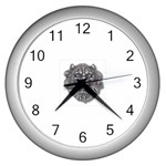 LARK60 Wall Clock (Silver)