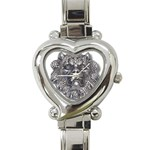 LARK60 Heart Italian Charm Watch