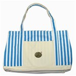 lark57 Striped Blue Tote Bag