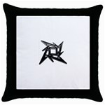lark48B Throw Pillow Case (Black)