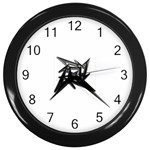 lark48B Wall Clock (Black)