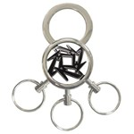 lark48B 3-Ring Key Chain