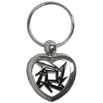 lark48B Key Chain (Heart)