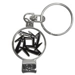 lark48B Nail Clippers Key Chain