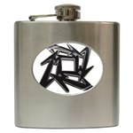 lark48B Hip Flask (6 oz)