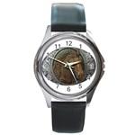 I76E Round Metal Watch