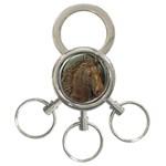I76E 3-Ring Key Chain