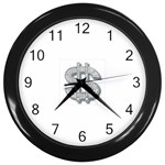 BucaleA118 Wall Clock (Black)