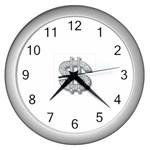 BucaleA118 Wall Clock (Silver)