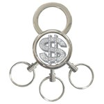 BucaleA118 3-Ring Key Chain