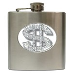 BucaleA118 Hip Flask (6 oz)