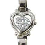 BucaleA118 Heart Italian Charm Watch